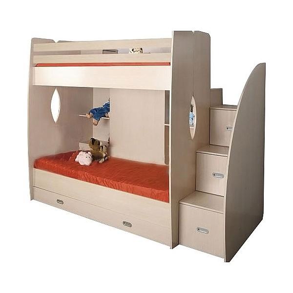 Кровать двухъярусная Олимп-мебель