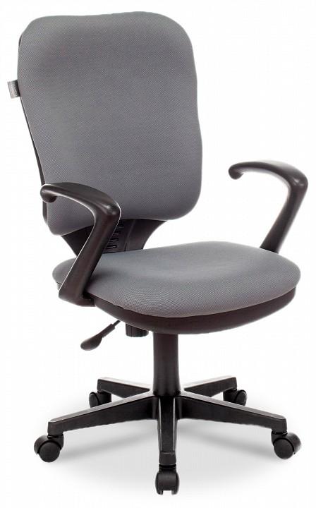 Кресло компьютерное Бюрократ Бюрократ CH-540AXSN серое бюрократ кресло бюрократ ch 540axsn low 26 25 низкая спинка серый 26 25
