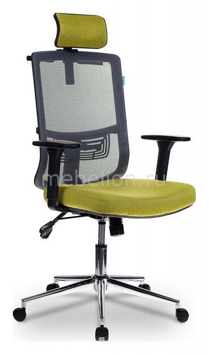 Кресло для руководителя Бюрократ MC-612-H/DG/GREEN