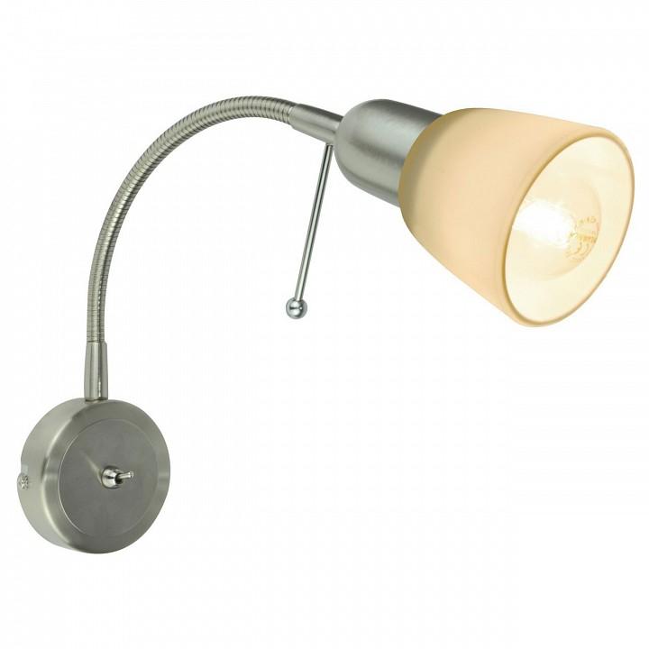 Купить Бра Lettura A7009AP-1SS, Arte Lamp, Италия