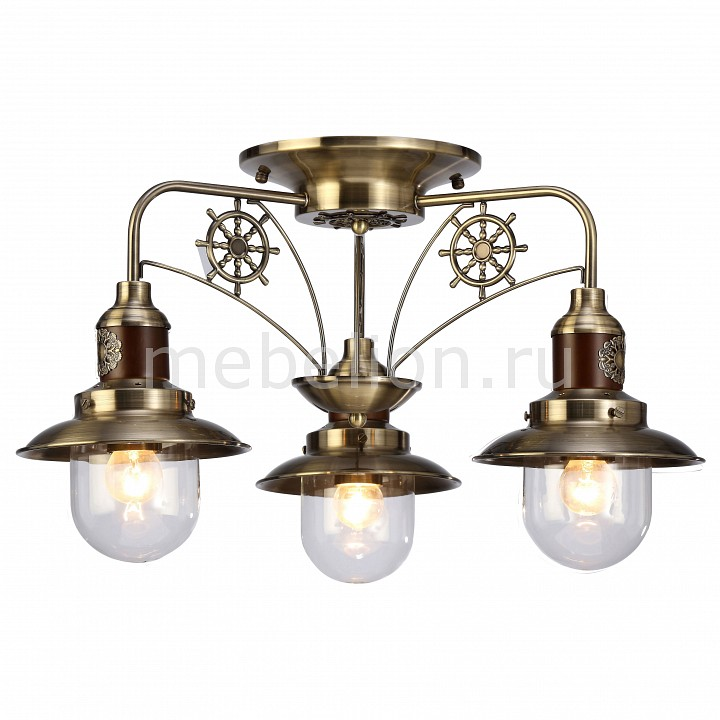 Потолочная люстра Arte Lamp Sailor A4524PL-3AB a7838pl 3ab hall arte lamp 950631