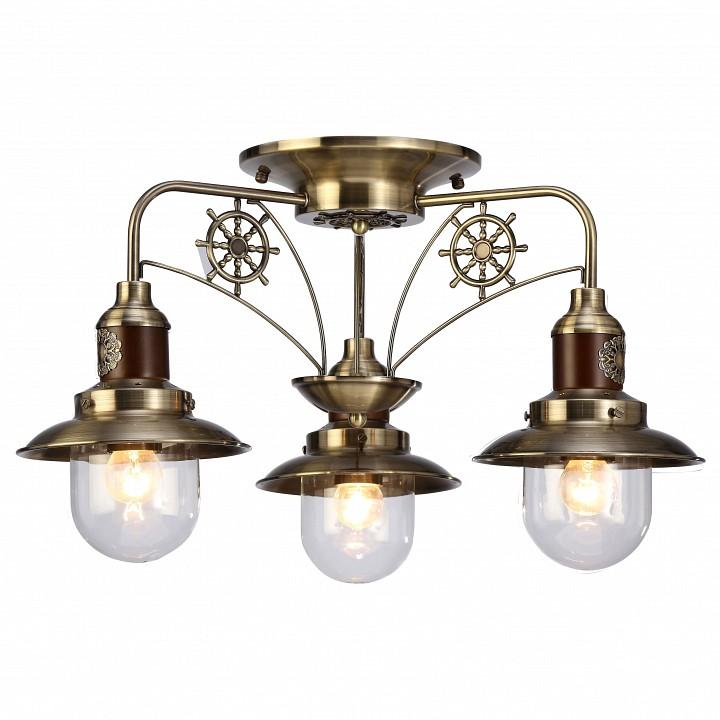 Купить Потолочная люстра Sailor A4524PL-3AB, Arte Lamp, Италия