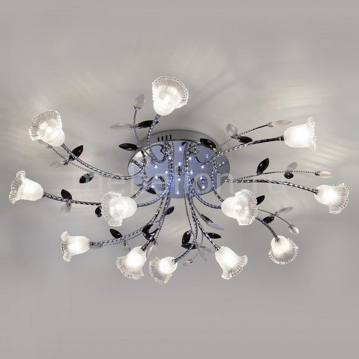 Купить Накладной светильник 80114/12 хром/белый, Eurosvet, Китай