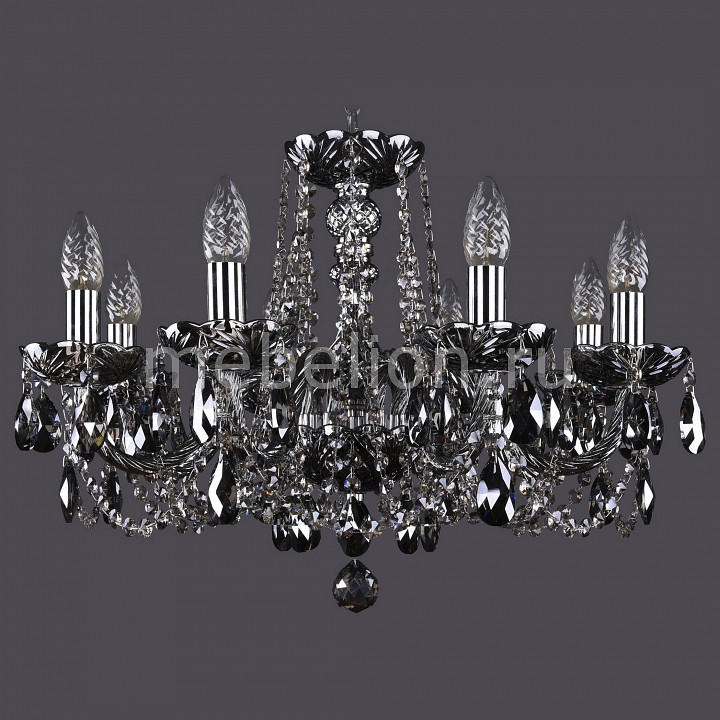 Подвесная люстра Bohemia Ivele Crystal 1402/8/195/Ni/M781 1402