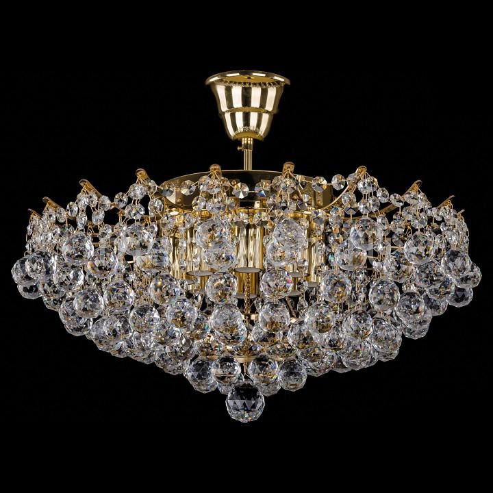 Люстра на штанге Bohemia Ivele Crystal 7331/50/G 7331
