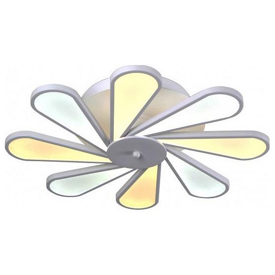 Потолочная люстра Kink Light Ромашка 08178 new 30w cob led light strip source warm white light lamp chip 120 65mm for diy car outdoor lighting led flood light dc12v 14v
