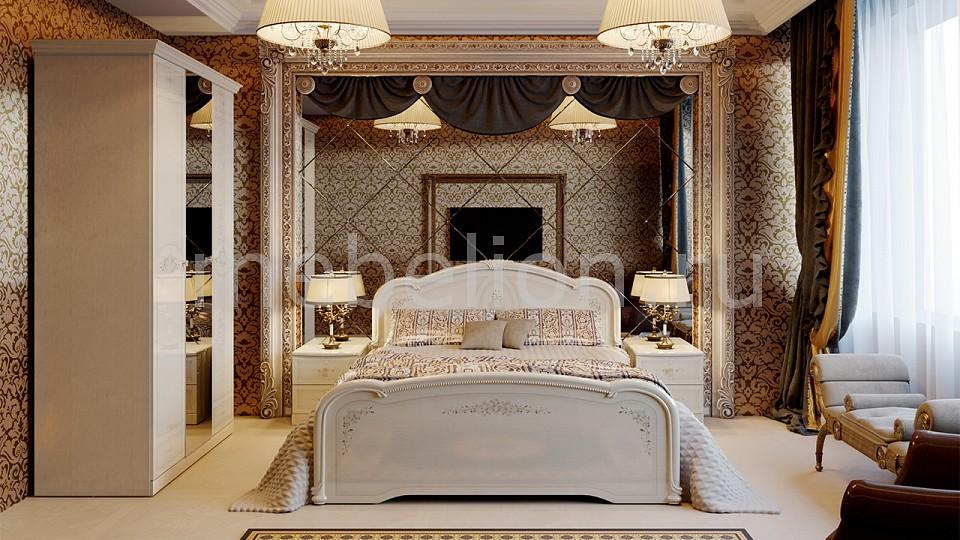 Гарнитур для спальни Мебель Трия Лорена ГН-254.003 мебель для спальни грация 3 лдсп б