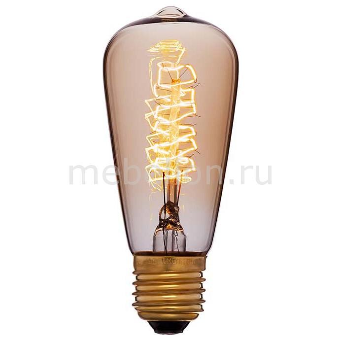 Лампа накаливания Sun Lumen ST48 E27 240В 40Вт 2200K 051-903