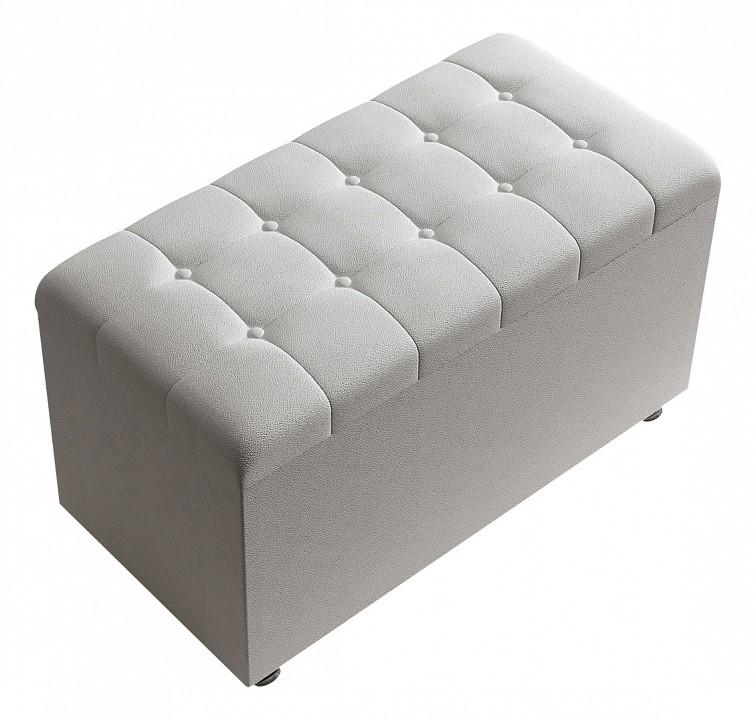 Банкетка-сундук Sonum White 80-40-4