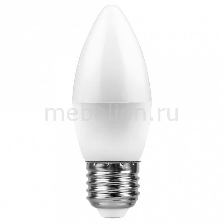 Лампа светодиодная [поставляется по 10 штук] Feron Лампа светодиодная LB-97 E27 7Вт 4000K 25759 [поставляется по 10 штук] светодиодная лампа feron 25759