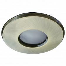 Комплект из 3 встраиваемых светильников Arte Lamp A5440PL-3AB Aqua