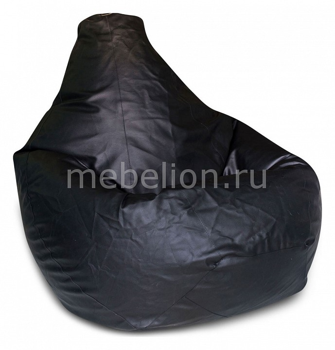 Кресло-мешок Dreambag Черная кожа II кресло мешок dreambag flags ii
