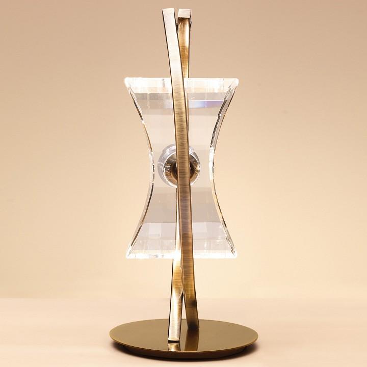 Настольная лампа Mantra 0875 Krom Cuero