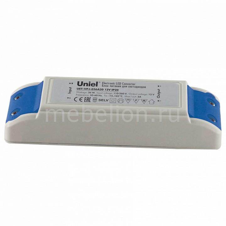 Фото - Блок питания Uniel UET-VPJ-036A20 10592 блок питания для светодиодов uniel 10590 150w 6 25ма ip67 uet vaj 150b67