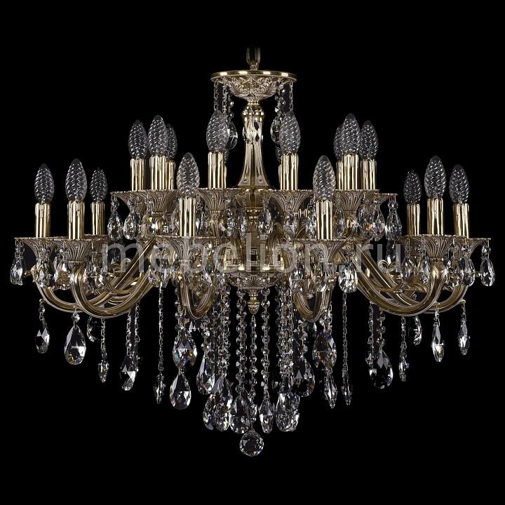 Подвесная люстра Bohemia Ivele Crystal 1703/20/320/B/GI 1703