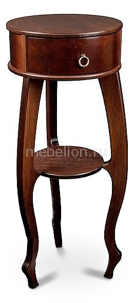 Подставка Мебелик Берже 12 темно-коричневый шатура подставка берже 12 темно коричневый