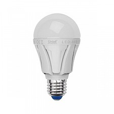 Лампа светодиодная Uniel LEDA6011WWWE27FRALP01WH Palazzo