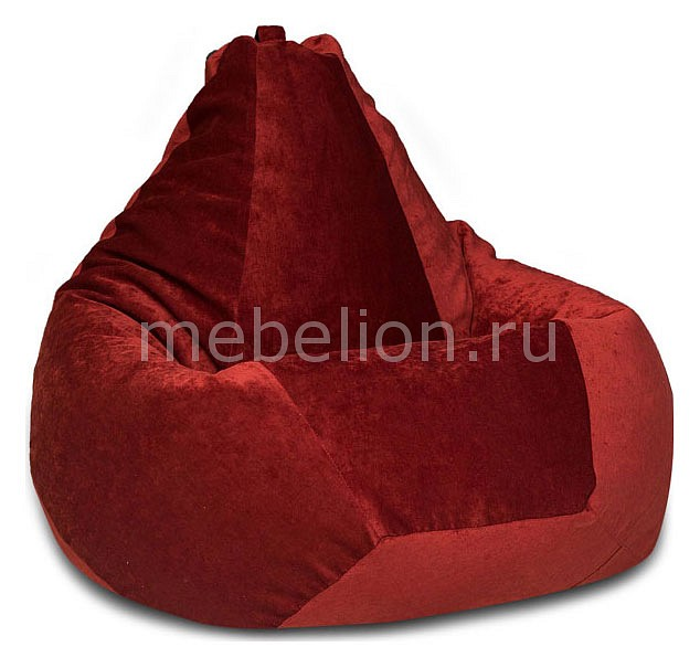 Кресло-мешок Dreambag Бордовый Микровельвет XL
