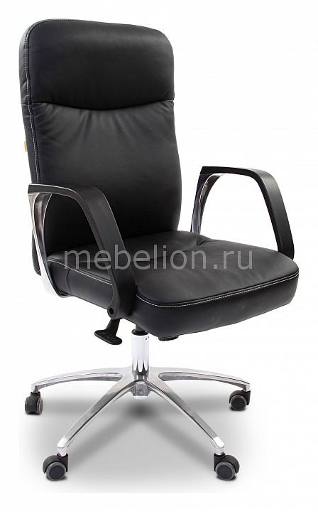 Кресло компьютерное Chairman 465 черный/хром  тумбы для обуви самара