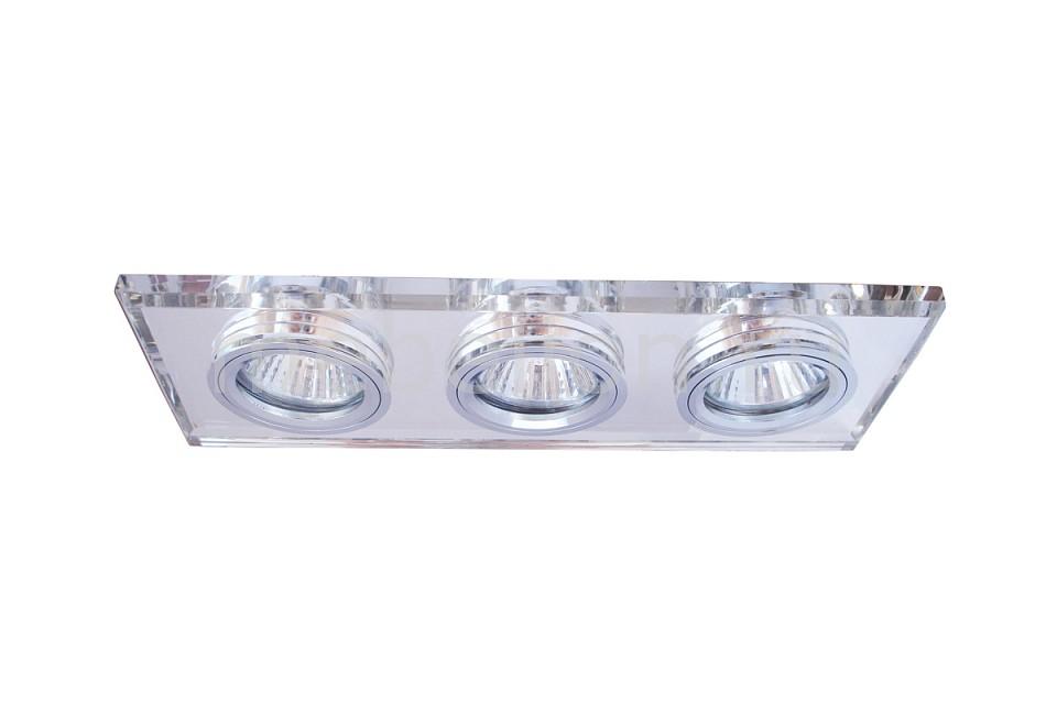 Встраиваемый светильник Arte Lamp A5956PL-3CC Cool Ice