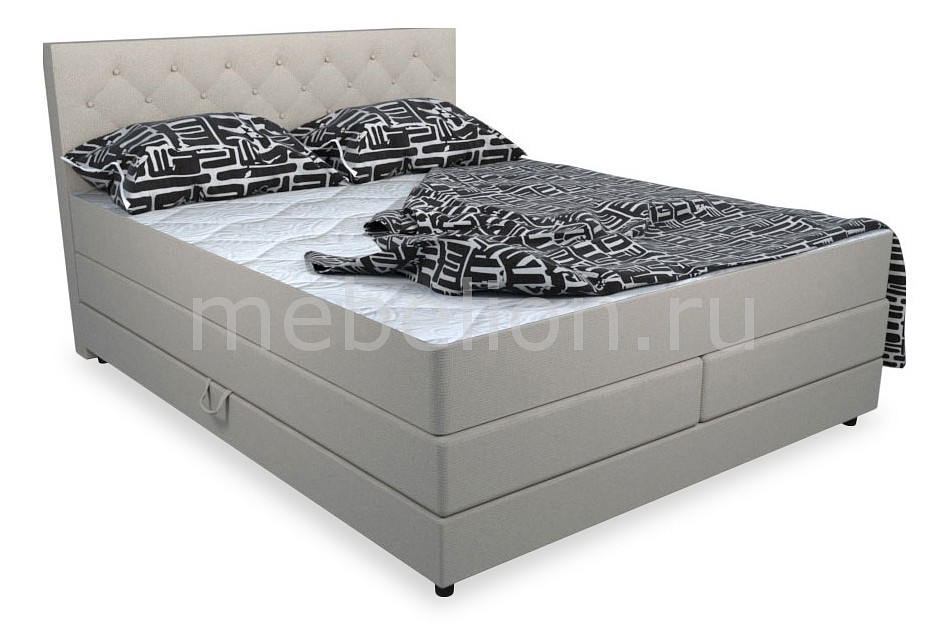 Кровати двуспальные Belabedding Кровать двуспальная с матрасом и топпером Уэльс 2000x1800 кровати двуспальные belabedding кровать двуспальная с матрасом уэльс 2000x1800