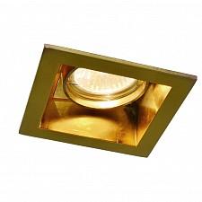 Встраиваемый светильник Arte Lamp A8050PL-1GO Cryptic