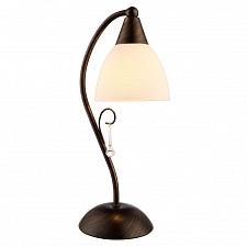 Настольная лампа декоративная Arte Lamp A9312LT-1BR Segreto