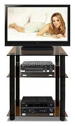 Подставка для ТВ ТВ-3.80 черный/тонированное mebelion.ru 8200.000