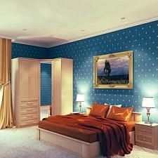 Гарнитур для спальни Юлианна 1 венге светлый