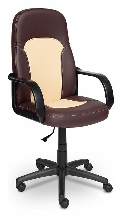 Кресло компьютерное Parma коричневый_бежевый  диваны кровати из экокожи купить