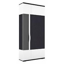 Шкаф комбинированный Марта 635.030 белый/дуб белфорт темный