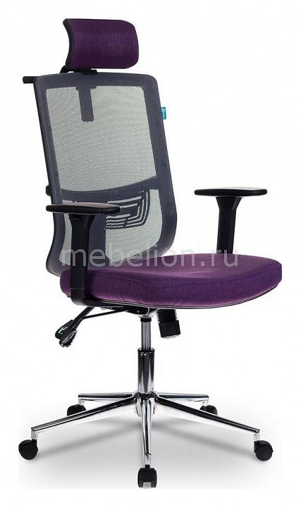 Кресло для руководителя Бюрократ MC-612-H/DG/VIOLET