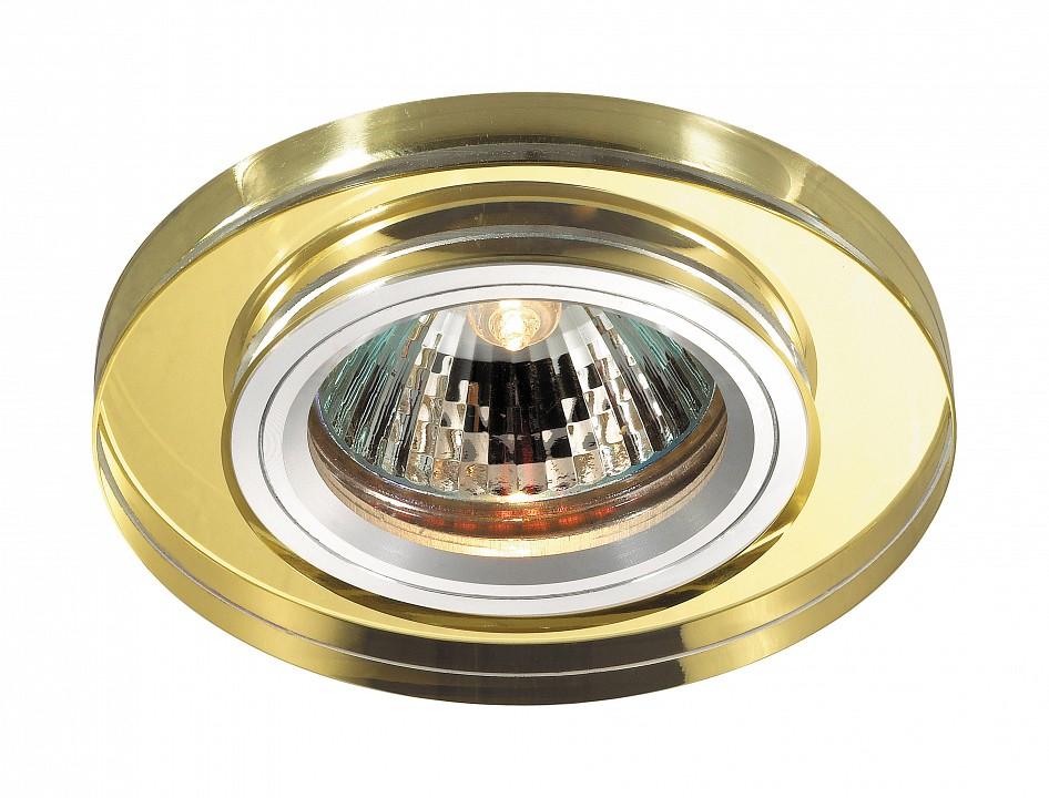 Купить Встраиваемые светильники Mirror 369758  Встраиваемый светильник Novotech