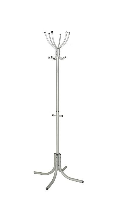 Вешалка напольная Мебелик Вешалка-стойка М-6 металлик цена и фото
