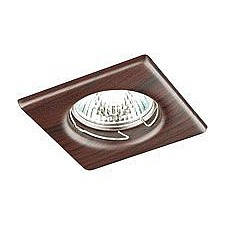 Встраиваемый светильник Novotech 369718 Wood
