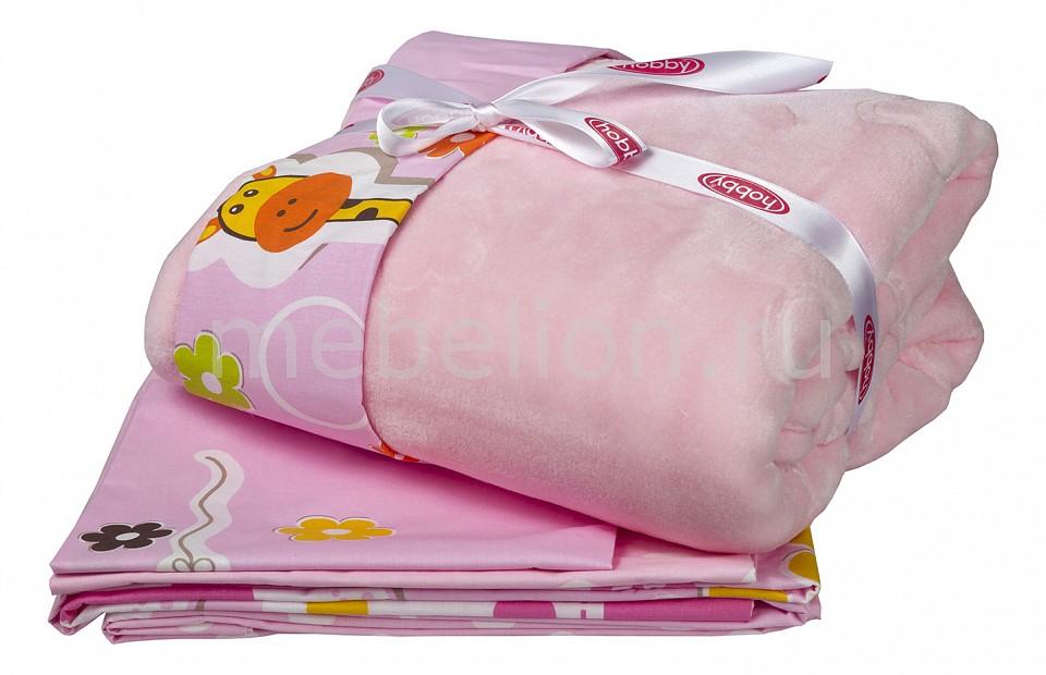 Комплект с покрывалом детский HOBBY Home Collection PUFFY комплект детский hobby home collection puffy