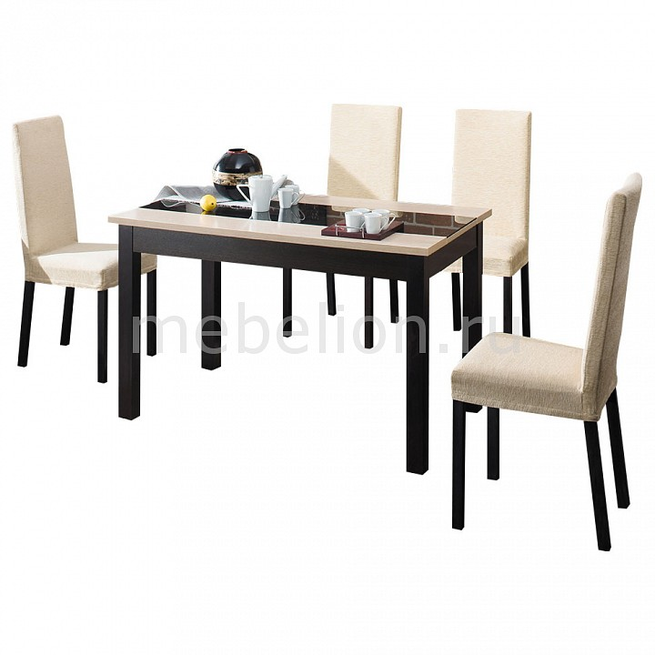 Набор обеденный ТриЯ Диез Т7, Этюд Т5 чехол для стула мебель трия хлоя м