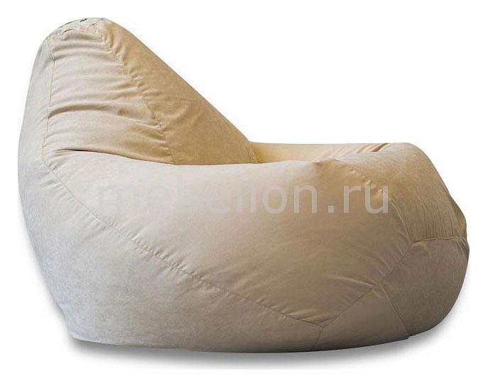 Кресло-мешок Dreambag Бежевая замша II галька морская бежевая фракция 5 10 мм 1 кг
