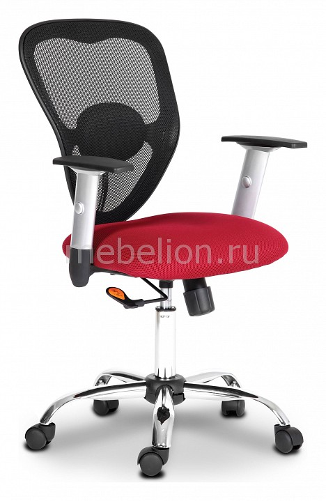 Кресло компьютерное Chairman 451 бордовый/хром