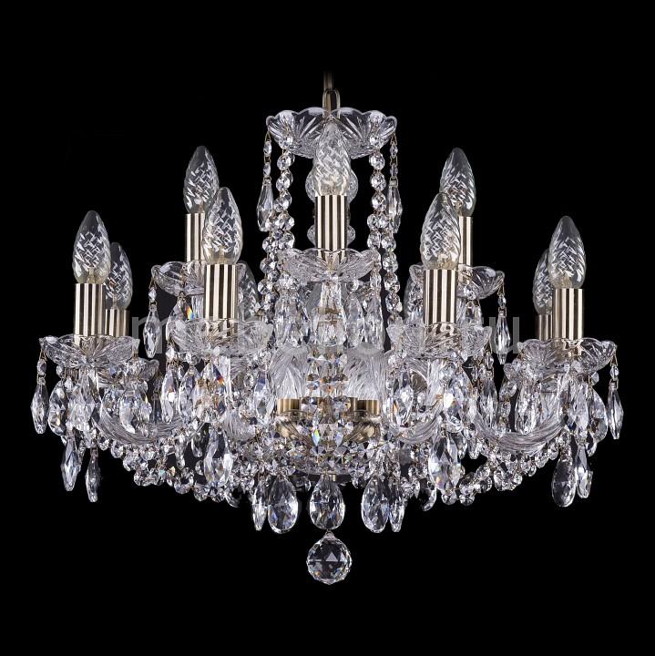 Подвесная люстра Bohemia Ivele Crystal 1402/8_4/195/Pa 1402