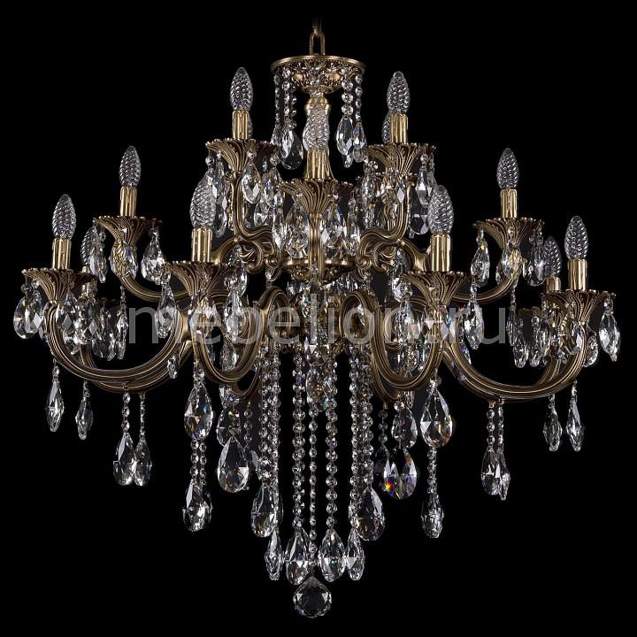 Подвесная люстра Bohemia Ivele Crystal 1722/8+4+4/335/B/FP 1722