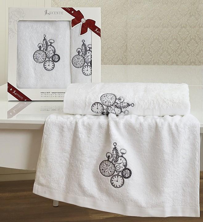 Набор полотенец для ванной Karna Набор из 2 полотенец для ванной LANCETTA karna karna кухонный набор из 2 полотенец avze v21