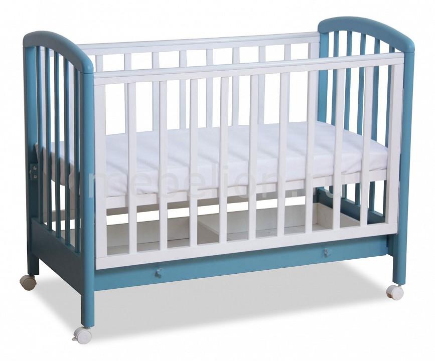 Кроватка Фея Фея 600 детская кроватка фея 600 темный мед