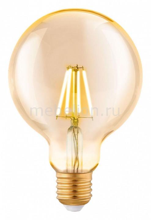 Лампа светодиодная Eglo G95 E27 4Вт 2200K 11522 лампа светодиодная eglo g95 e27 4вт 2700k 11502