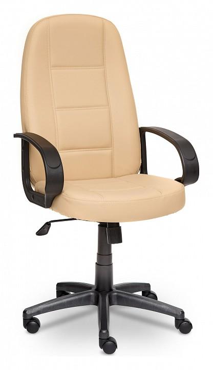 Кресло компьютерное CH 747 бежевое  тумбочка прикроватная ширина 35