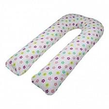 Подушка для беременных (80x140x35 см) Цветочная полянка U-1363