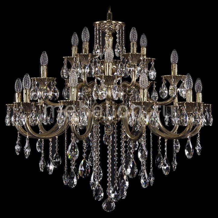 Подвесная люстра Bohemia Ivele Crystal 1722/10+5+5/335/B/GB 1722