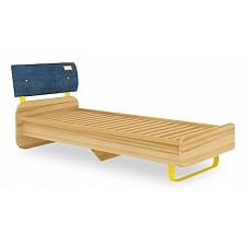 Кровать детская Любимый Дом Джинс 507.090 сантана/джинс/желтый бриллиант