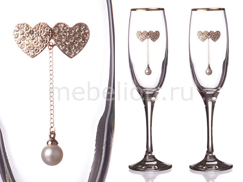 Набор бокалов для шампанского АРТИ-М 802-510117 набор бокалов для шампанского арти м 802 510 10