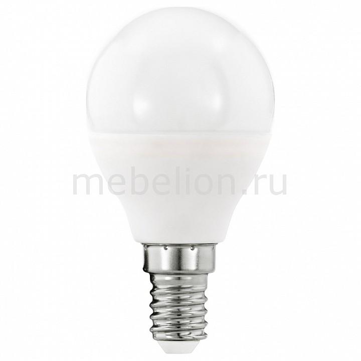 Лампа светодиодная [поставляется по 10 штук] Eglo Лампа светодиодная P45 E14 5,5Вт 3000K 11644 [поставляется по 10 штук] цена